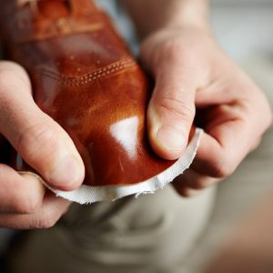 leather footwear worker choice adhesives
