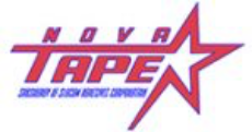nova tape logo choice adhesives